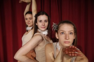 Candice Irwin, Sarah Hopkin, Sarah Jones. Photo by Aria Evans